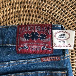 Lucky brand Lolita clover edition jeans NWT